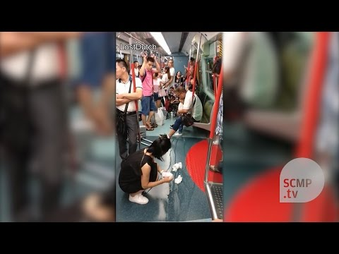 Mainlander child pees on Hong Kong MTR train on National Day holiday