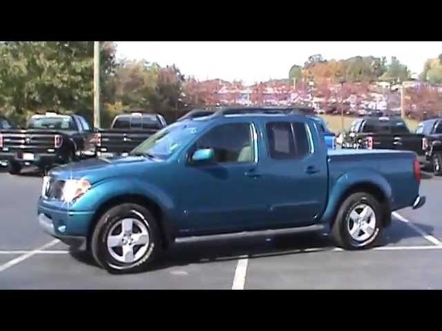 for sale 2005 nissan frontier le v6 1 owner!! stk# 21040a www.lcford