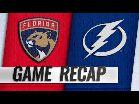 Lightning score six in win against Panthers