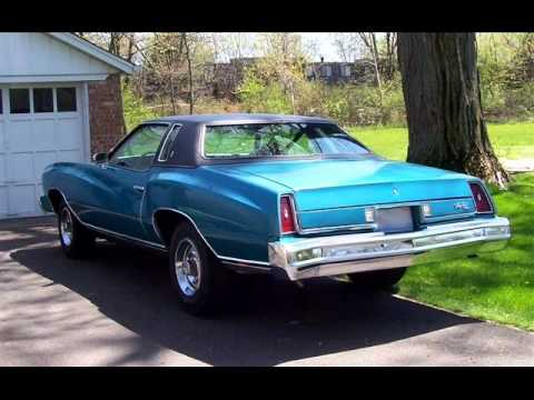 the real chevrolet monte carlo 1970 1977 youtube. Black Bedroom Furniture Sets. Home Design Ideas