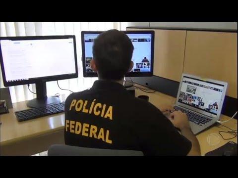 PF realiza operação de combate à pedofilia na internet em São Paulo