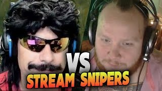 DRDISRESPECT AND TIMTHETATMAN VS STREAM SNIPERS (DUO - PLAYERUNKNOWN'S BATTLEGROUNDS)
