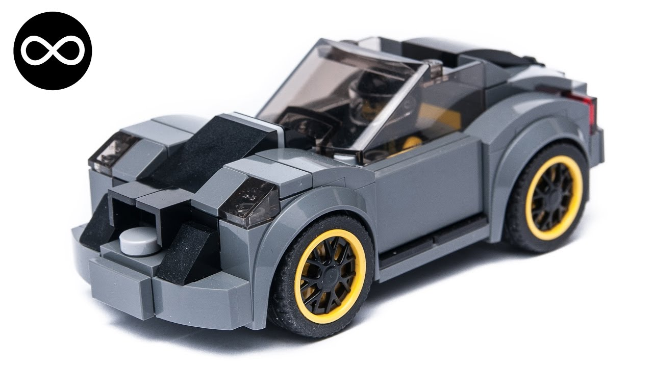 Lego Speed Champions Exclusive Drift Car Alternate Moc Youtube
