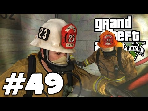 Grand Theft Auto V (HD 1080p) - Налёт на Бюро / Неприятности с законом - прохождение #49