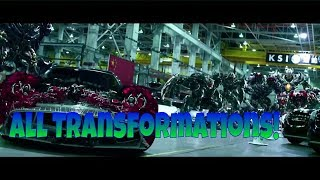 Transformers 1,2,3,4,5 All Transformations