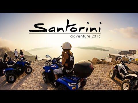 Santorini adventure 2016 / GO PRO video