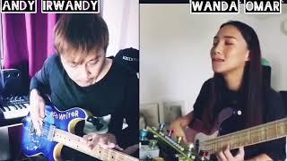 WANDA OMAR bassist KOTAK Band Indonesia & ANDY IRWANDY guitarist ATT #ngejambarengwanda #dirumahaja