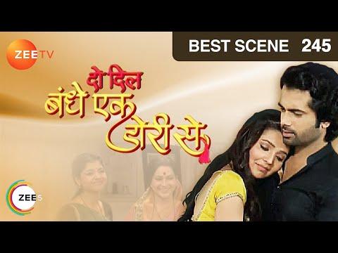 Do Dil Bandhe Ek Dori Se - Hindi Serial - Episode 245 - July 10, 2014 - Zee TV Serial - Recap