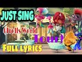 Just Sing (Trolls World Tour) | Full lyrics from movie Trolls World Tour