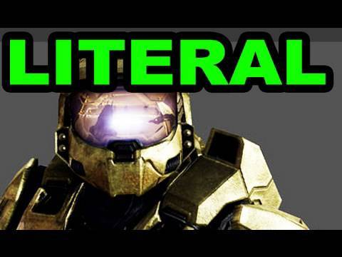 LITERAL Halo Reach: Trailer