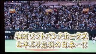 Fukuoka Softbank Hawks 2011 Nippon Series Champions - 日本一ダ!