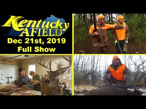 December 21, 2019 Full Show - Urban Sprawl Rabbit Hunt, How To Cape A Deer, Muzzleloader Hunt