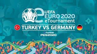 eEURO: Turkey v Germany (Second Leg)