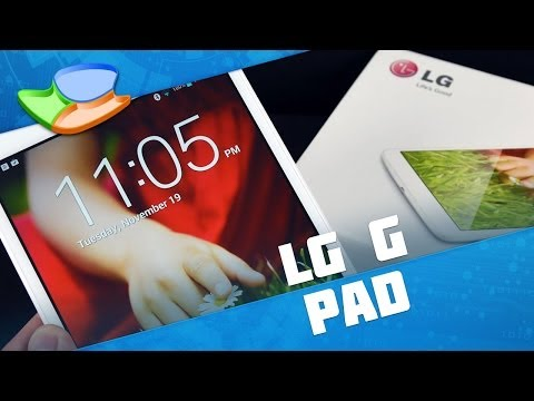 LG G Pad 8.3 [Análise de Produto] - Tecmundo