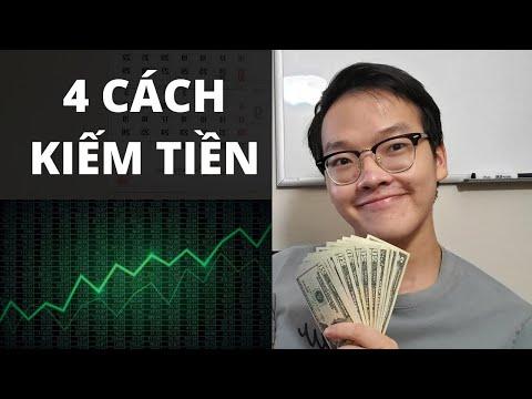 4 CÁCH  KIẾM TIỀN TỪ THỊ TRƯỜNG CHỨNG KHOÁN | Thanh Cong TC |