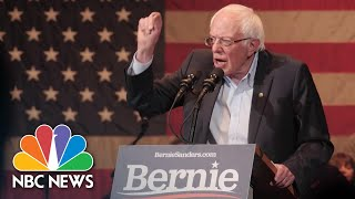 Examining Sanders' Plans To Pay For His Policy Proposals | NBC News NOW