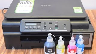 Brother DCP-T500W Printer Unboxing and Hands On