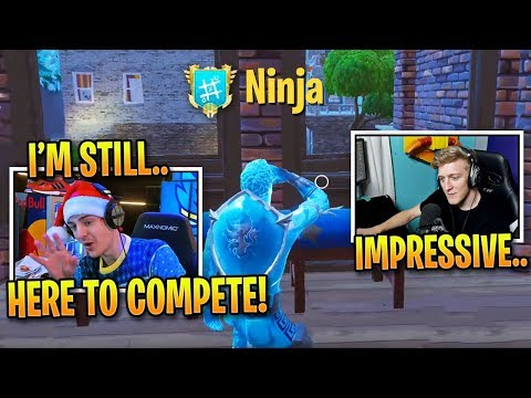 Ninja PROVES He Can Hang with Tfue and DESTROY Pros! *INTENSE LATE GAME*