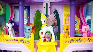 My Little Pony Toys Princess Celestia Canterlot Castle MLP Playset Kinder Playtime