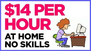 5 Work At Home Jobs ** NO SKILLS REQUIRED**