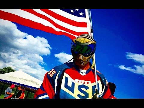 Team USA vs Russia - Full Paintball Match