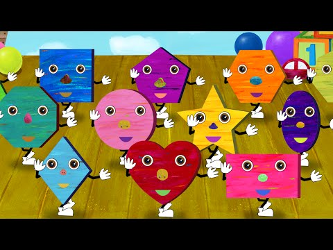 Shape song for kids