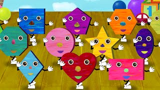 Shapes Song - 31 Kids Songs and Videos thumbnail