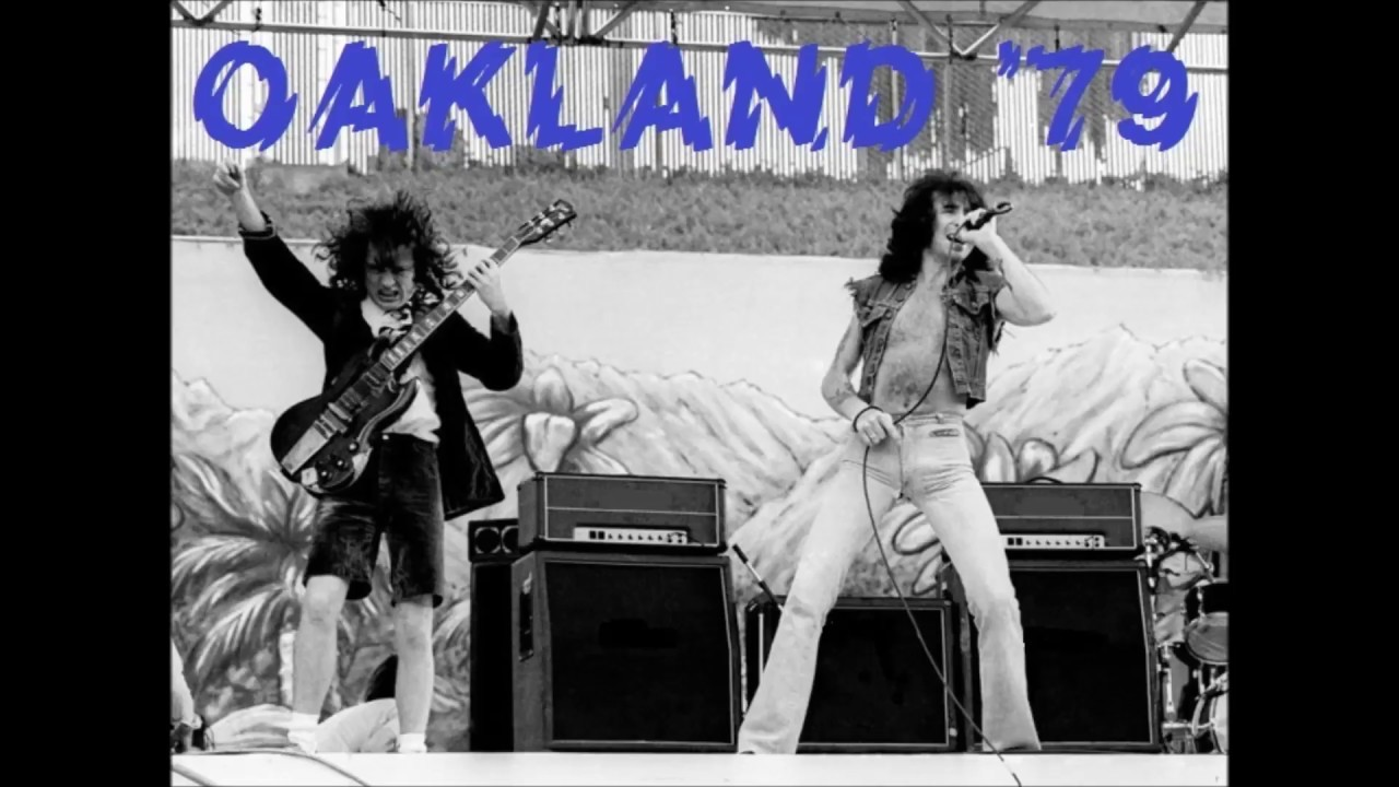 AC / DC - 01 - Live wire (Oakland - 1979) - YouTube