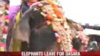 Dussehra celebrations begin in Mysore