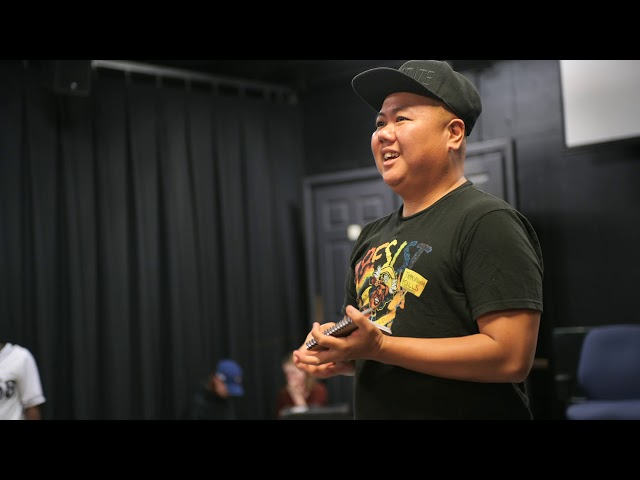 Kit Yan, slam poet—Beyond the Stage