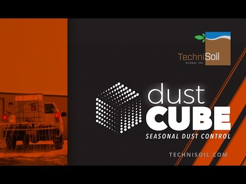 DustCube Product Demo | DIY Dust Control For Gravel Roads
