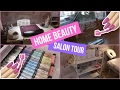 Home Beauty Salon Tour | LAURA ANN
