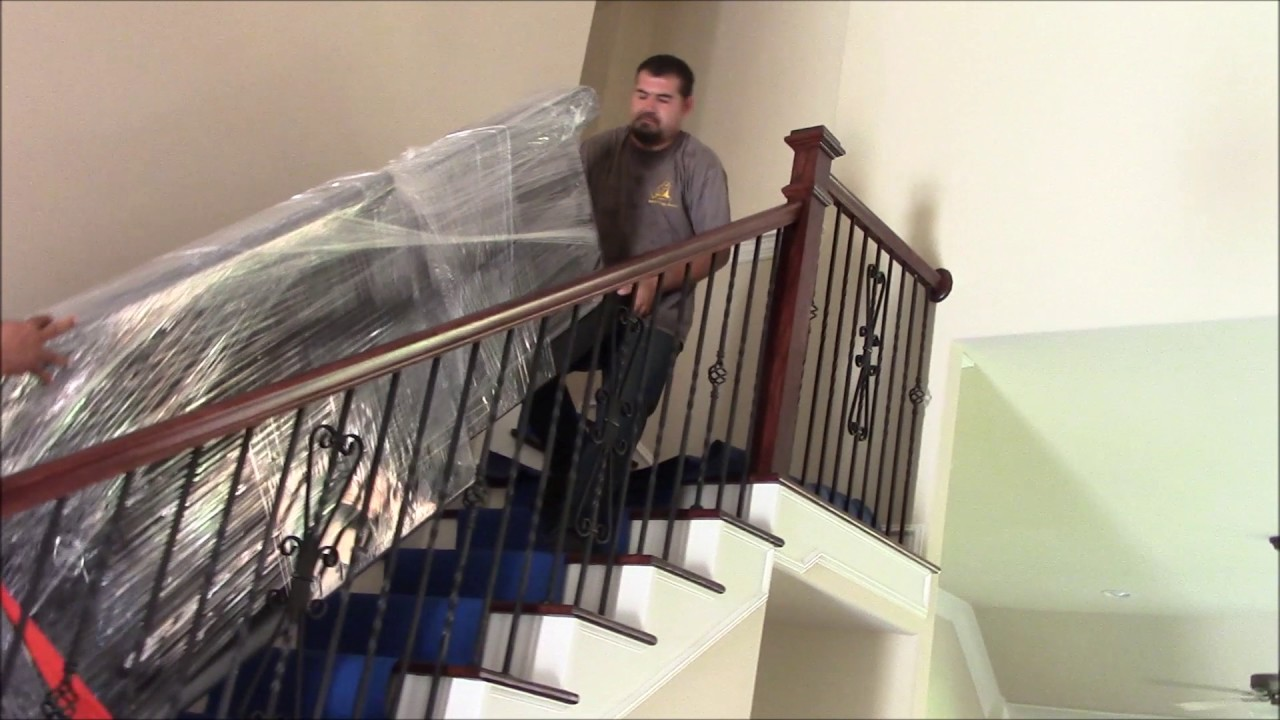 Great How To Move A Treadmill Upstairs With A Corner Turn