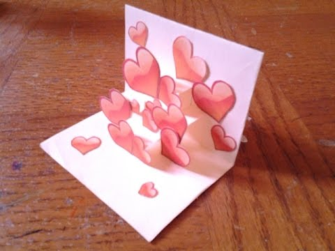 Easy and simple pop up card tutorial for beginners 2 youtube easy and simple pop up card tutorial for beginners 2 m4hsunfo