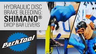 How to Bleed Hydrąulic Brakes - Shimano® Drop Bar Levers