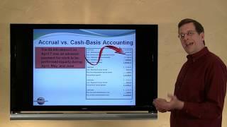 3 - Accrual vs. Cash-Basis Accounting