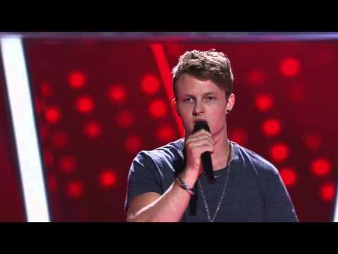 Blake Leggett Sings Fall At Your Feet | The Voice Australia 2014