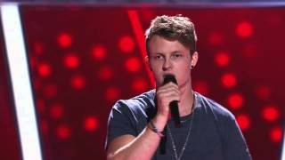 Blake Leggett Sings Fall At Your Feet | The Voice Australia 2014