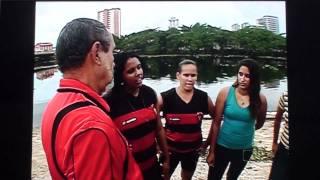 Globo Esporte - Preparativos do Sport para1a PE Remo