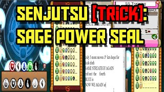 vuclip Ninja Saga - [Trick] Sage Power Seal - Senjutsu Point [SS Training] [No HACK] 2015