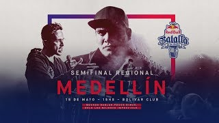 Semifinal Regional Medellín, Colombia 2018 - Red Bull Batalla de los Gallos