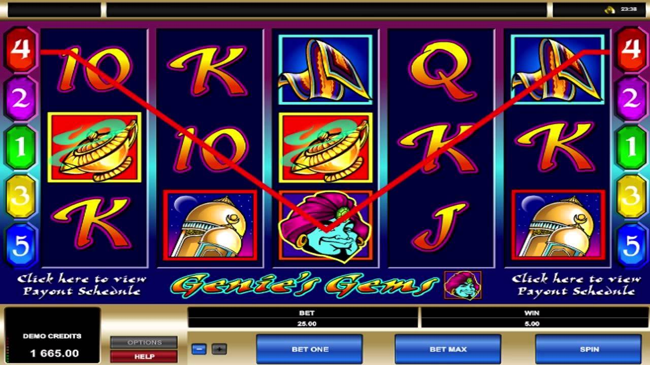 Spiele GenieS Gems - Video Slots Online