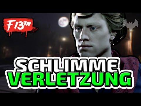 SCHLIMME VERLETZUNG - ♠ FRIDAY THE 13TH: THE GAME ♠ - Deutsch German - Dhalucard