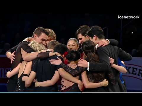 Presentation of 2018 US Olympic Team - 2018 US Nationals Gala Intermission 3 NC
