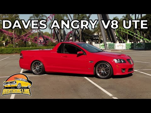 Dave's Angry Cammed Holden SS UTE