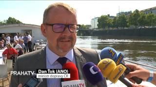 Prahu čeká rozvoj lodní dopravy po Vltavě