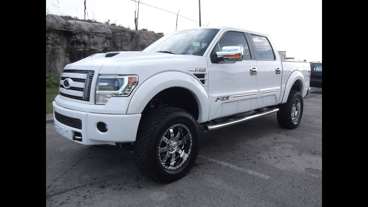 2013 ford f 150 ftx by tuscany oxford white 6 procomp lift ford of murfreesboro 888 439 1265 youtube - White Ford F150 Lifted