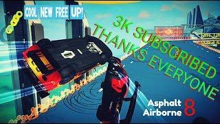 Asphalt 8 - Funny Moments & Stunts [3K Sub Special] 🆙 🏁💥⚓💨