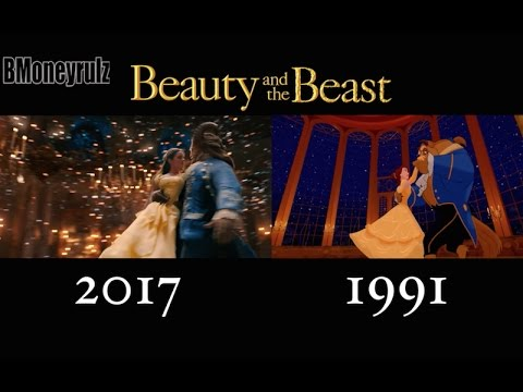 'Beauty And The Beast' (2017) Side-By-Side w/ 1991 Version
