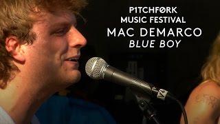 "Mac DeMarco performs ""Blue Boy"" - Pitchfork Music Festival 2015"